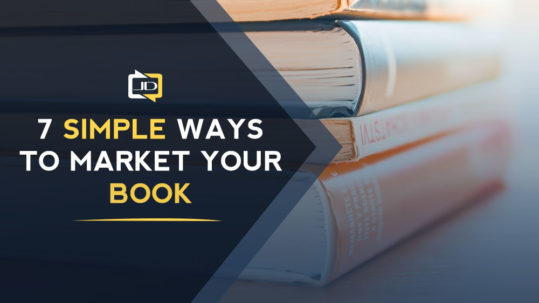 7 simple ways to market your book