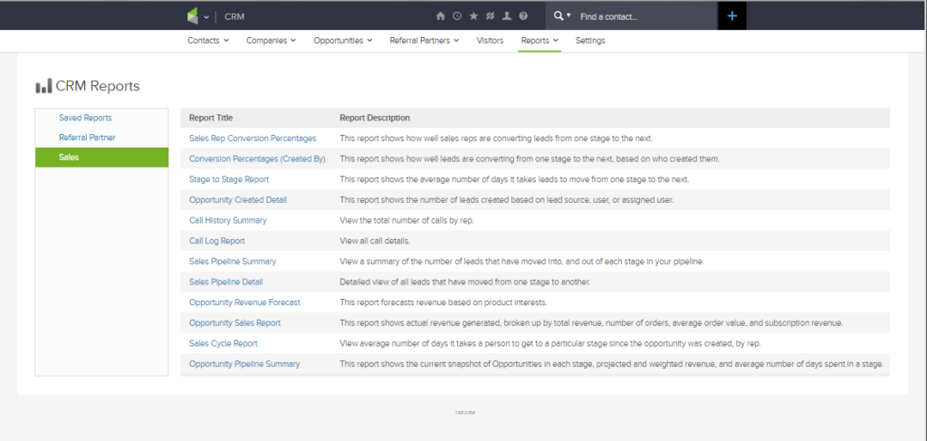 crm reports infusionsoft review just digital