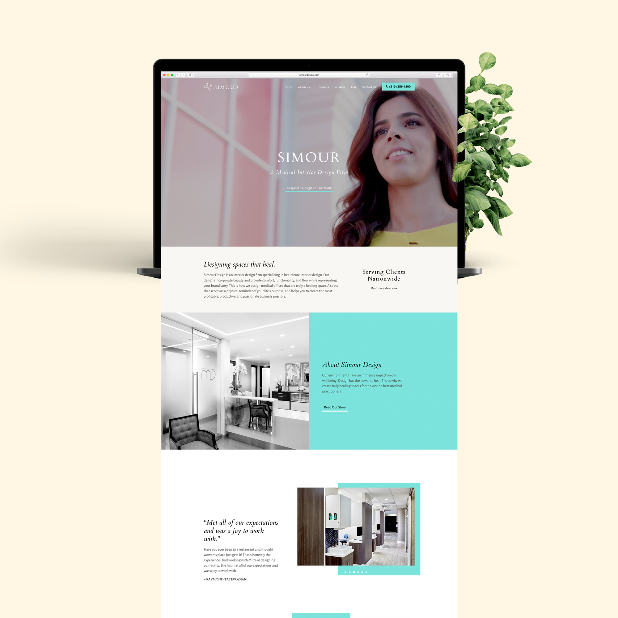 website by a creative agency