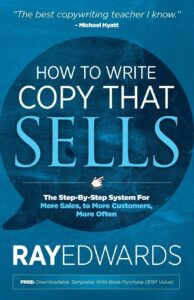 how to write copy that sells marketing book