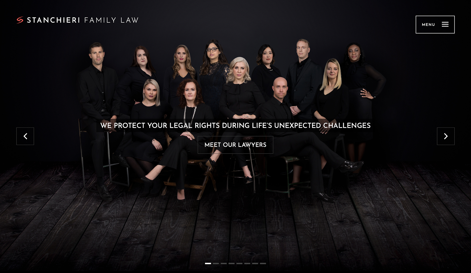 Stanchieri Family Law best law firm websites