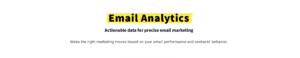GetResponse Email Analytics Feature