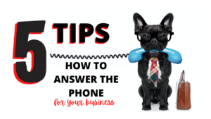 how to answer the phone