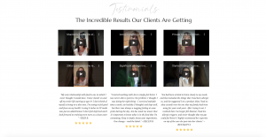 Wake up and read the labels testimonials
