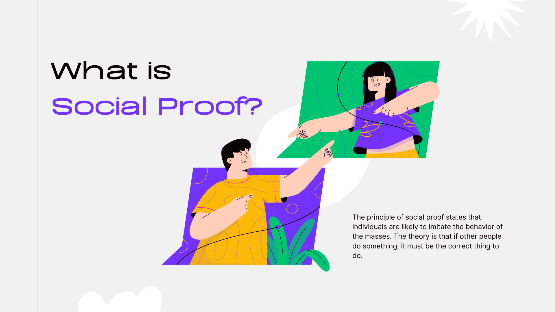 What is social proof marketing