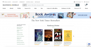 barnes and noble bestsellers page