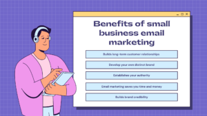 benefits of small business email marketing