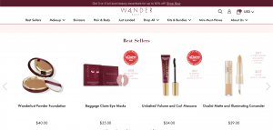 wander beauty products