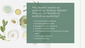 What are the benefits of medical spa marketing